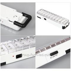 Emergency led lamp with 30 60  90 diodes.