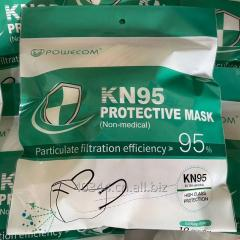 EUA list manufacturer KN95 disposable dust face