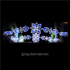 Waterproof Outdoor Holiday Christmas Street Decorati