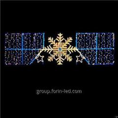 Gold Supplier Outdoor Christmas Street Light...