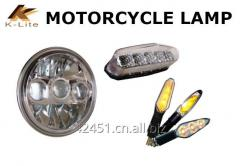 Motorcycle headlight tail light winker