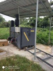 Industrial use small waste Incinerator for