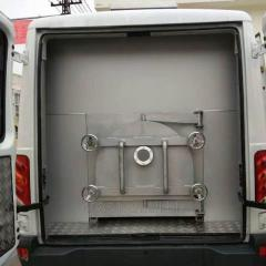 Vehicle mounted pet incinerator