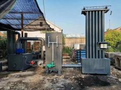 Small medical waste incinerator rotary kiln for