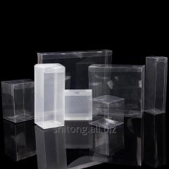 Custom packaging clear PVC PET transparent