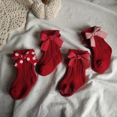 Xmas Bowknot Socks