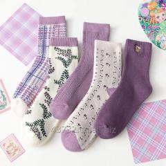 Lavender Purple  Socks