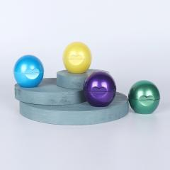 New design 7g plastic empty lip balm ball...