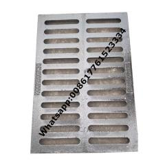Ductile iron drainage gully grate