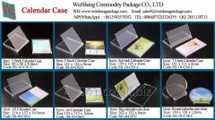 Weisheng CD Calendar Holders Desktop Stand Plastic