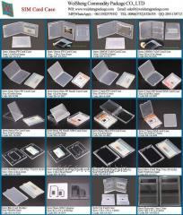 Slim Business Card Box Keeper Cases for Credit
