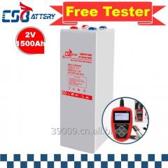 Csbattery 2V1500ah Deep Cycle Battery for
