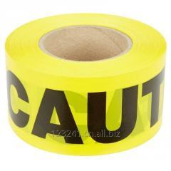 Non-Adhesive Barricade Tape Warning Tape - 3 inch