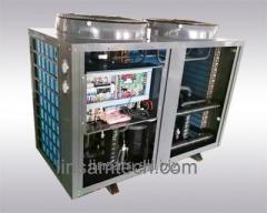 Air heat pump work at very low temperature