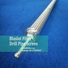Drill pipe screen manufacturer - bluslot