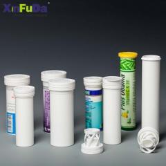 لوله قرص جوشان پلاستیکی برای بسته بندی قرص جوشان