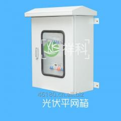Photovoltaic grid-connected cabinet.
