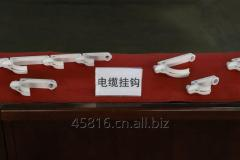 PVC cable hook for underground mine