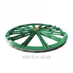 Customized industrial steel cable pulleys