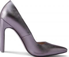 Women high heel shoes with purple corlor