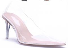 Transparent high heel