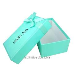 Custom tiff any color luxury jewelry box with
