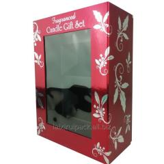 Custom Cardboard Luxury Candle Packaging Box with