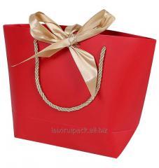 Custom printing Luxury round corner hand bag...