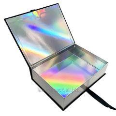 Luxury silver fancy paper laser printing...