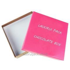 Handmade Luxury package rectangular book box for