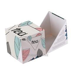 Custom design FCS small paper box for tea bag