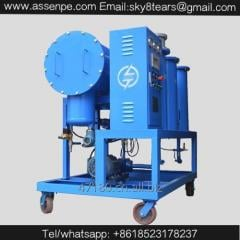 TYL 3000 L/H fuel oil purification system water
