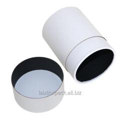 3 inch 76 mm White color blank paper tube tea