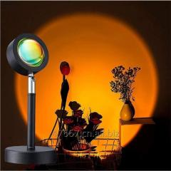 Led Sunset Projector Lamp Atmosphere Night Light