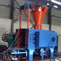 High Pressure Briquette Press Machine for Sponge