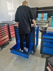 7 drawers heavy duty  tool trolley