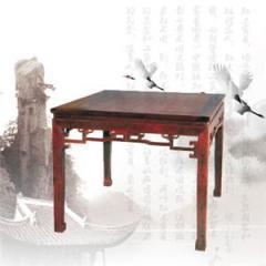 木制庭院家具