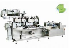 Automatic wet tissues packaging machine VPD258-II