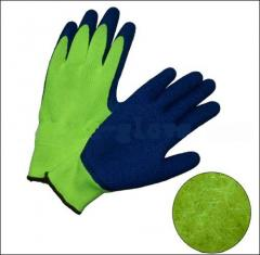 Latex coated gloves-6256WFR
