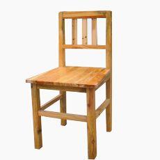 实木单人课椅