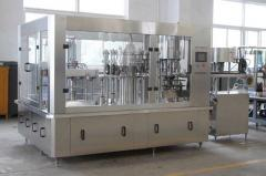 Bottling line for carbonated drinks