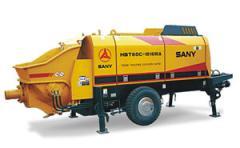 Concrete- pumps trailer