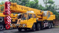 Cranes, truck cranes
