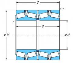 四列圆锥滚子轴承