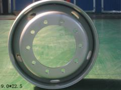Tube steel wheel rim 22.5*9.00