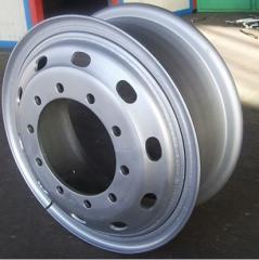 Tube steel wheel rim 8.50-20