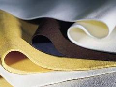 Polyester felt for industrial filtration