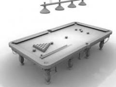 台球桌 0989
