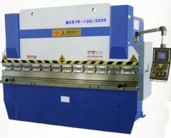 WC67K系列液压板料数控折弯机