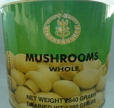 Canned Whole Mushroom 4013